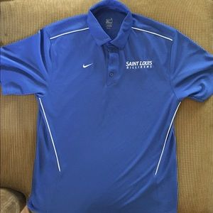St. Louis Billikens polo size large by Nike